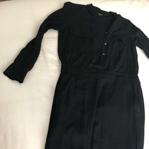 Madewell Black Viscose Jumpsuit Size S or XS
